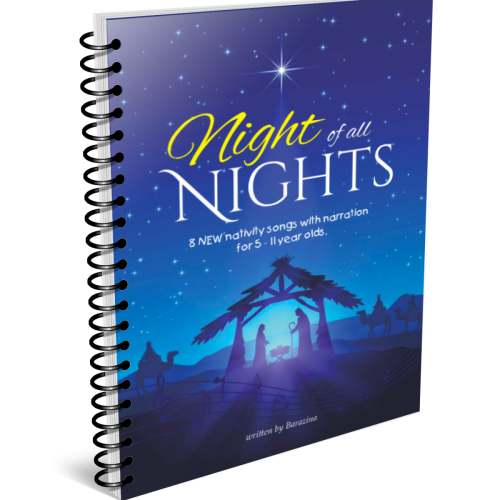 Barazina Night of all Nights book mock-up
